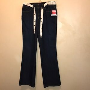 Gloria Vanderbilt Women's Indigo Stretch Jeans 8.